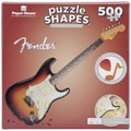 Paper House  Cardboard 500 Piece Shaped Puzzle Fender 7.8in.