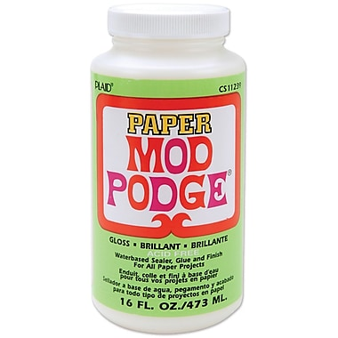 Plaid:Craft CS11239 Mod Podge Paper Glue, 16 oz.
