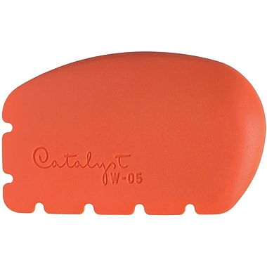 Princeton Art & Brush Silicone Wedge Tool Orange 4.75