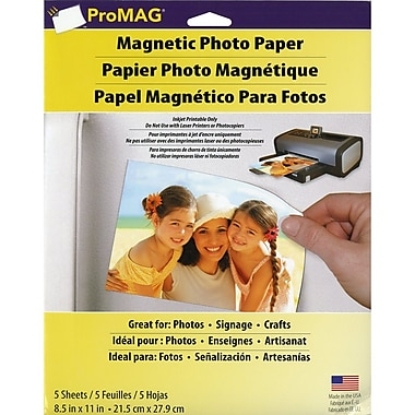 ProMag Magnetic Photo Paper 8.5