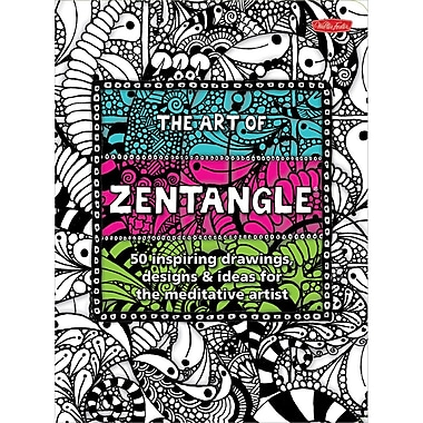 Quayside Publishing Walter Foster Creative Books-The Art Of Zentangle