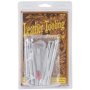 Realeather Crafts T8170 Silver Basic Tooling Set with Knife, Set/1