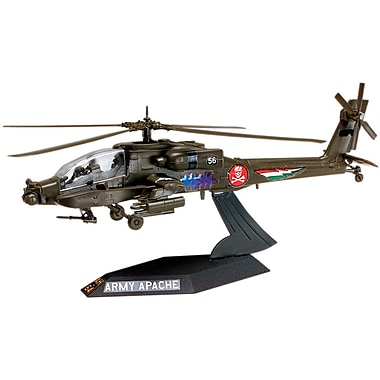 Revell Plastic Model Kit-AH-64 Apache Helicopter Desktop