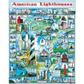 White Mountain Puzzles  White Mountain Puzzles American Lighthouses 24in. X 30in.