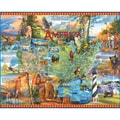 White Mountain Puzzles  Cardboard National Parks Jigsaw Puzzle 24in. X 30in.