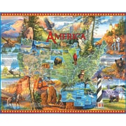 "White Mountain Puzzles  Cardboard National Parks Jigsaw Puzzle 24"" X 30"""