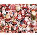 White Mountain Puzzles  Santa's Big Night