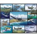 White Mountain Puzzles  White Mountain Puzzles Airplanes of World War II 24in. X 30in.