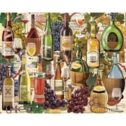 "White Mountain Puzzles  Wine Country - 1000 Piece Jigsaw Puzzle 24"" X 30"""