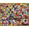 White Mountain Puzzles  White Mountain Puzzles Matchbox Collage Jigsaw Puzzle, 1000-pieces 24in. x 30in.