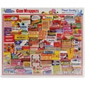 White Mountain Puzzles  White Mountain Puzzles Gum Wrappers - 1000 Piece Jigsaw Puzzle 24in.