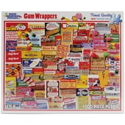 White Mountain Puzzles  White Mountain Puzzles Gum Wrappers - 1000 Piece Jigsaw Puzzle 24""