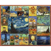 White Mountain Puzzles  White Mountain Puzzles Vincent Van Gogh 1000 Piece Jigsaw