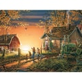 White Mountain Puzzles  Cardboard White Mountain Puzzles - Jigsaw Puzzle Terry Redlin 24in. X 30in.