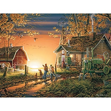 White Mountain Puzzles Cardboard White Mountain Puzzles - Jigsaw Puzzle Terry Redlin 24