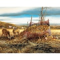White Mountain Puzzles  Jigsaw Puzzle Terry Redlin 1000 Pieces Crown Thy Good 24in. X 30in.