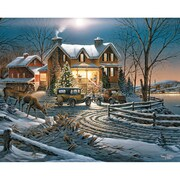 "White Mountain Puzzles  Crown Thy Good With Brotherhood - 1000 Piece Jigsaw Puzzle 24"" X 30"""
