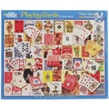 White Mountain Puzzles  White Mountain Puzzles Playing Cards - 1000 Piece Jigsaw Puzzle 24in. x 30in.