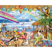"White Mountain Puzzles  Cardboard Happy Hour Jigsaw Puzzle 24"" X 30"""