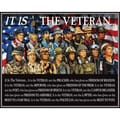 White Mountain Puzzles  It is The Veteran - 1000 Piece Jigsaw Puzzle 24in. x 30in.