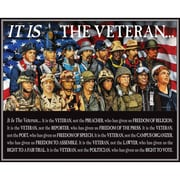 "White Mountain Puzzles  It is The Veteran - 1000 Piece Jigsaw Puzzle 24"" x 30"""
