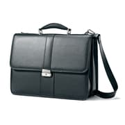 Samsonite Leather Flapover Briefcase 16.5""