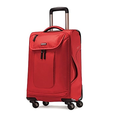 American Tourister Nylon/Poly Travel Case for Notebook,  Red