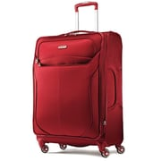 Samsonite Nylon Luggage Lift Spinner Suitcase 25,  Red