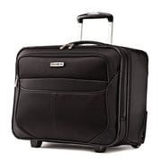 Samsonite Nylon Luggage Lift Wheeled Boarding Bag 18,  Black