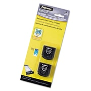 Fellowes® SafeCut™ Plastic Rotary Trimmer Blades, Black