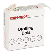 "Koh-I-Noor 7/8"" Dia. Drafting Dots, 500/Box"