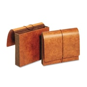 Cardinal Globe-Weis® Letter Accordion Wallet With 3 1/2 Expansion, Brown