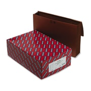 "Smead® Legal Expanding Wallet With 5 1/4"" Expansion and Cord, Redrope, 10/Box"