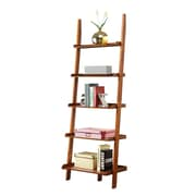 Convenience Concepts 72 Woodgrain Veneer Bookcase, Cherry