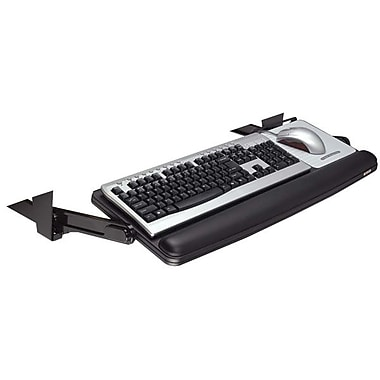 3M Adjustable Under-Desk Keyboard Drawer, Black (KD90)