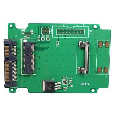 Aleratec 350118 50mm mSATA SSD to SATA Adapter, 2/Pack
