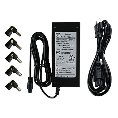 BTI AC-U65 W-5X 65 W Universal AC Adapter for Acer Notebook