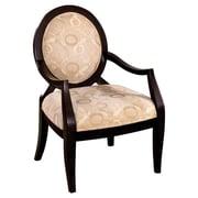 Hokku Designs Maire Cotton Arm Chair