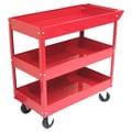 Excel Metal Tool Cart; Red