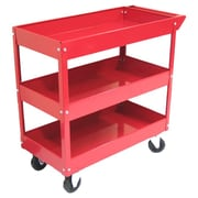 Excel Metal Tool Cart; Red