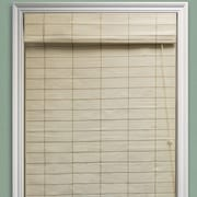 Chicology Kyoto Natural Woven Roman Shade; 36'' W x 72 L