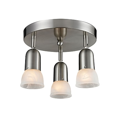Z-Lite Pria (221) 3 Light Semi Flush Mount Light, 11