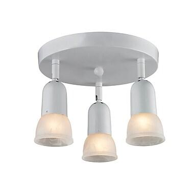 Z-Lite Pria (222) 3 Light Semi Flush Mount Light, 11