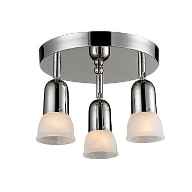 Z-Lite Pria (223) 3 Light Semi Flush Mount Light, 11