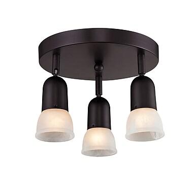 Z-Lite Pria (224) 3 Light Semi Flush Mount Light, 11