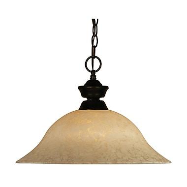 Z-Lite (100701BRZ-GM16) - Suspension à une lumière, 16 po x 12 po, bronze
