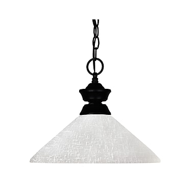 Z-Lite Shark (100701MB-AWL14) 1 Light Pendant, 14