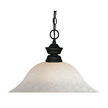 Z-Lite (100701MB-WM16) 1 Light Pendant, 16