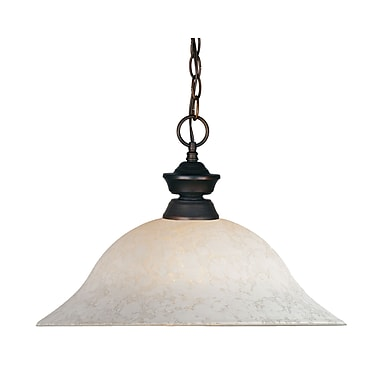 Z-Lite (100701OB-WM16) 1 Light Pendant, 16