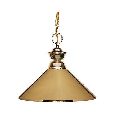 Z-Lite (100701PB-MPB) 1 Light Pendant, 14